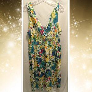 53d29004780 Size 18 20 Avenue Floral Summer Dress NWT